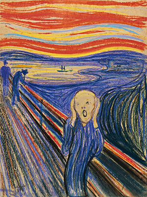 Edvard Munch-The Scream