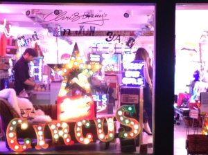 Chris Bracey pop up shop Gods own junk yard