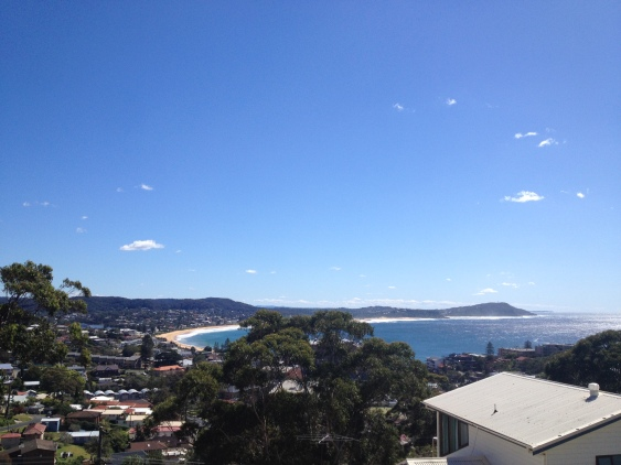 Terrigal house with view