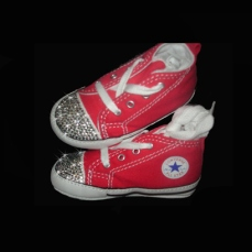 baby converse customised
