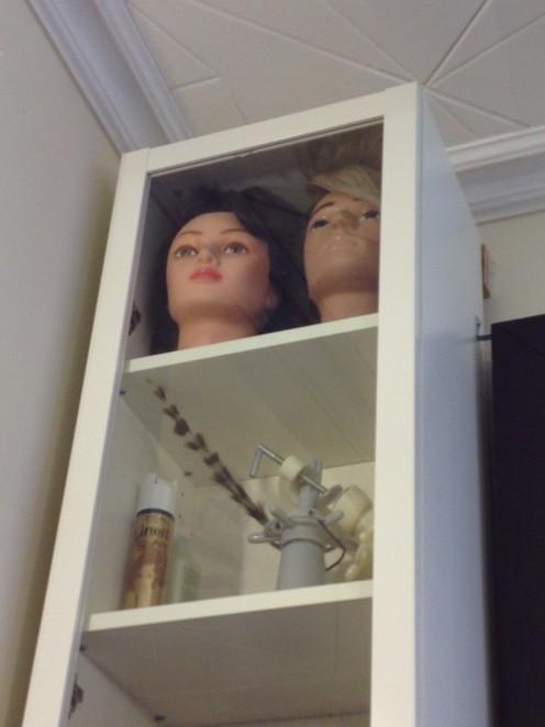 Hairdresser heads