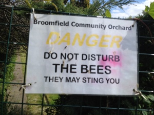 In brackets underneath I would have liked to have added 'Only if they feel threatened!'