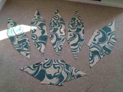 Florence Broadhurst pattern pieces