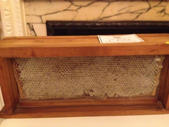 Prize winning capped honey frame